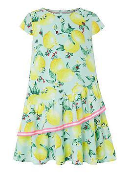 monsoon-leonie-lemon-dress-turquoise