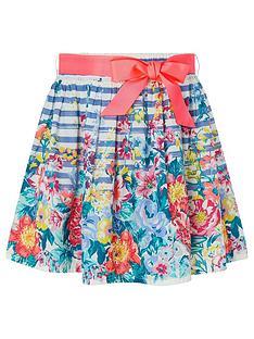 monsoon-girls-lilian-border-skirt-blue