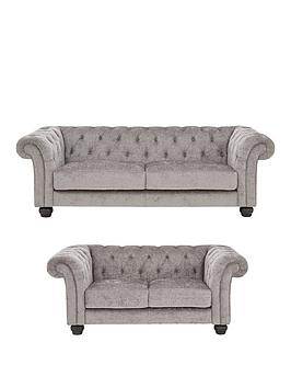 Very Regent Fabric 3 Seater + 2 Seater Sofa Set (Buy And Save!) Picture