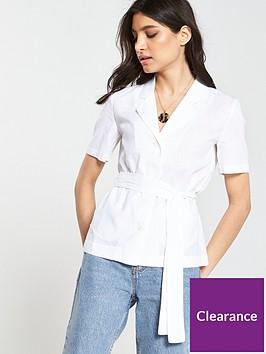 mango-utility-belted-short-sleeve-shirt-off-white