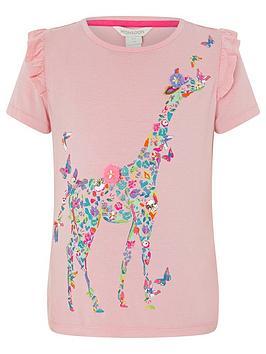 monsoon-girlsnbspginella-giraffe-t-shirt-pink