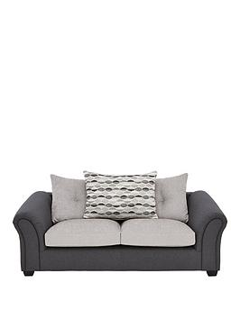 Very Quartz Fabric Compact 3 Seater Scatter Back Sofa Picture