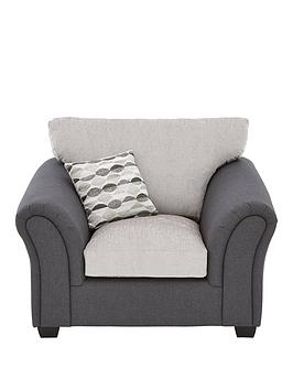 Very Quartz Fabric Compact Armchair Picture