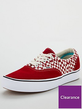 vans-comfycush-era-plimsolls-redwhitenbsp