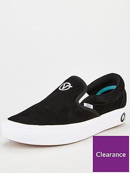 vans-comfycush-slip-on-plimsolls-blacknbsp
