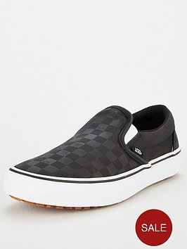 vans-slip-on-checkerboard-plimsolls-black