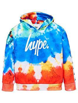 hype-boys-tie-dye-script-hoodie-multi