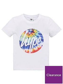 hype-boys-tie-dye-circle-short-sleeve-t-shirt-white