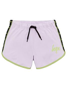 hype-girls-taped-runner-shorts-pink