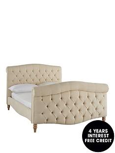 silentnight-lucia-fabric-bed-frame-cream