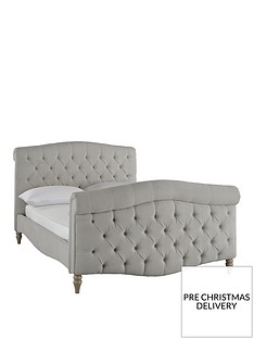 silentnight-lucia-fabric-bed-frame-stone