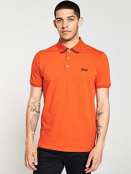 hugo-dyler-tipping-polo-shirt-orange