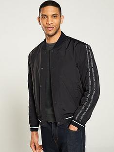 hugo-borrisnbspbomber-jacket-black