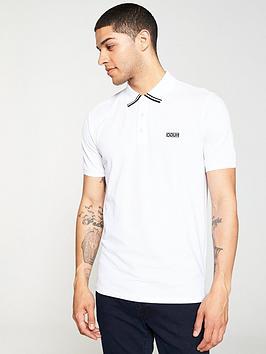 hugo-dyler-tipping-polo-shirt-white