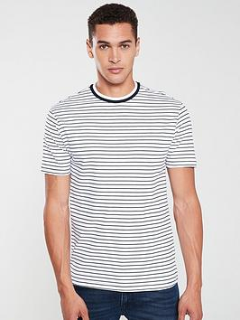 river-island-white-stripe-muscle-fit-t-shirt