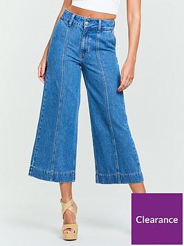 michelle-keegan-seamed-wide-leg-culotte-jeans