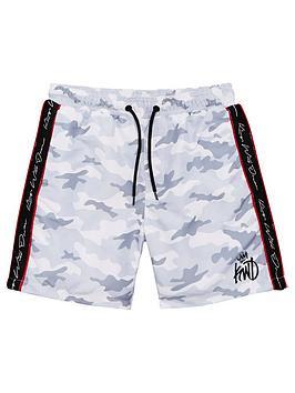 kings-will-dream-boys-marden-swim-shorts-white