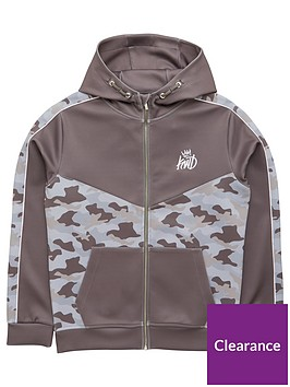 kings-will-dream-boys-montrose-camo-zip-through-hoodie-grey