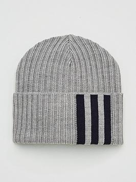 adidas-3-stripenbspwoolie-beanie-hat-medium-grey-heather