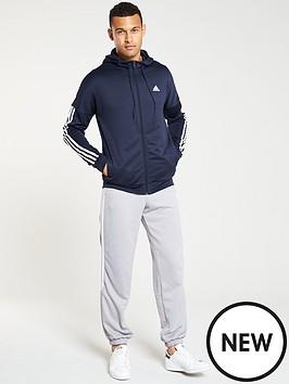 adidas-smu-hooded-3-stripe-tracksuit-navy