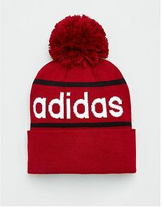adidas-logo-pom-woolie-hat-maroon