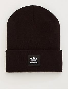 adidas Originals  Adidas Originals Cuff Knit Hat - Black