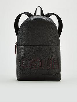 hugo-victorian-leather-backpack-black