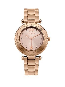 Lipsy Lipsy Lispy Rose Gold Dial Rose Gold Bracelet Ladies Watch Picture