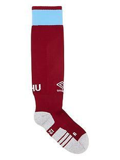 umbro-junior-west-ham-1819-home-socks-burgundy
