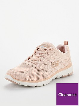 skechers-flex-appeal-30-metal-works-trainer-pink