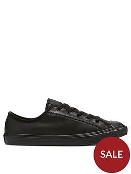 converse-chuck-taylor-all-star-leather-dainty-ox-plimsolls-black