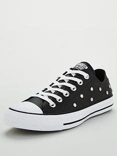 converse-chuck-taylor-all-star-stud-leather-ox-plimsolls-black