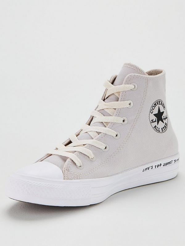 Chuck Taylor All Star Renew Recycle Hi GreyWhite