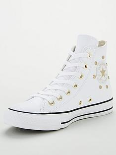 converse-chuck-taylor-all-star-stud-leather-hi-top-plimsolls-white