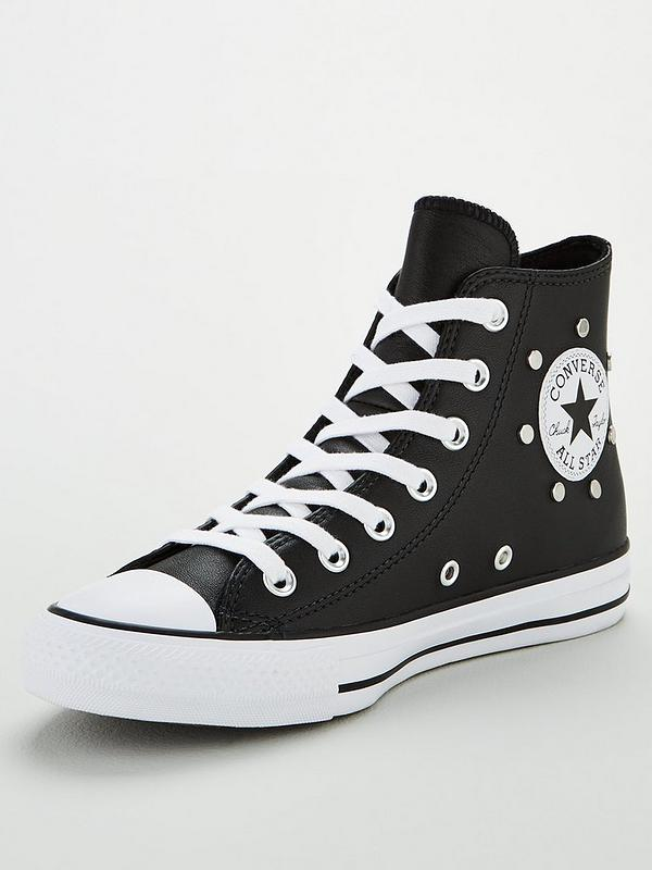 Leather Stud Converse