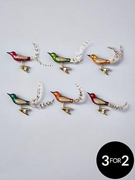 sass-belle-set-of-6-glitter-bird-clip-on-tree-decorations