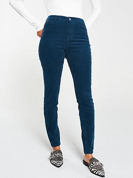 v-by-very-cord-skinny-trouser-teal
