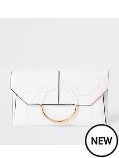 river-island-envelope-clutch-white