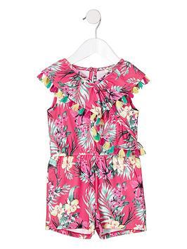 river-island-mini-mini-girls-tropical-frill-playsuit-pink