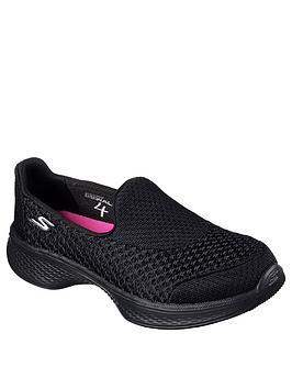 Skechers Skechers Go Walk Slip On Shoes - Black Picture