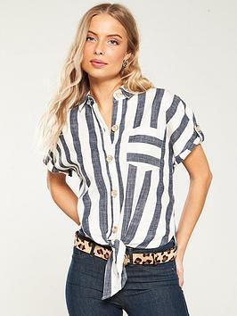 river-island-river-island-oversized-striped-shirt--blue