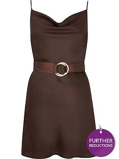 ri-petite-belted-slip-dress--chocolate