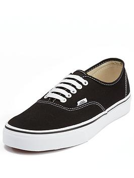 Vans Vans Canvas Authentic - Black/White Picture