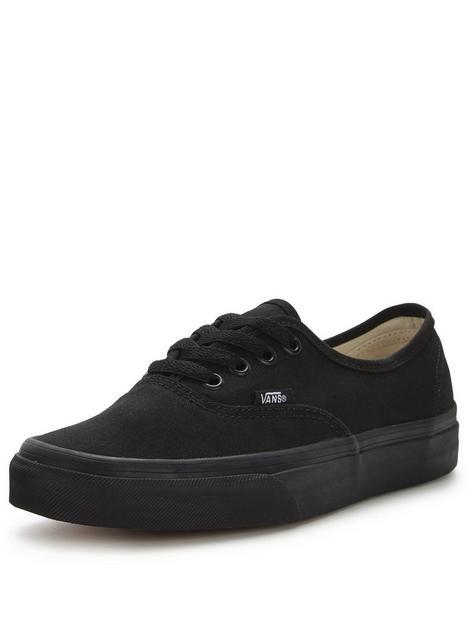 vans-canvas-authentic-black
