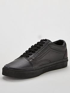 vans-leather-old-skool-black