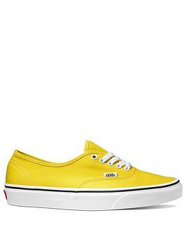 vans-canvas-authentic-yellow