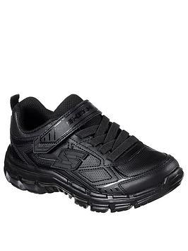 Skechers Skechers Nitrate School Shoes - Black Picture