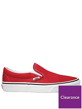vans-classic-slip-on-redwhite