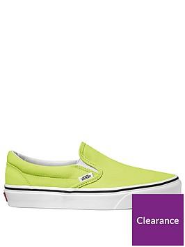 vans-classic-slip-on-greenwhite