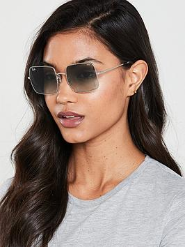 Ray-Ban Ray-Ban Square Sunglasses - Silver Picture
